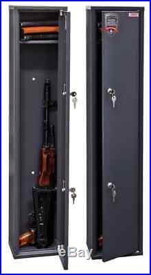 1015 Gun Rifle Shotgun Metal Security Cabinet Safe Storage Case Rack