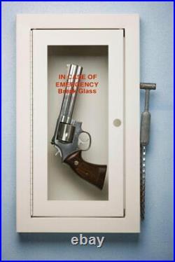 108111 Hand Gun in Emergency Case Self Defense Decor LAMINATED POSTER AU