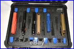 11 pistol handgun gun +22 mags +1500D foam insert fits Seahorse SE720 720 case