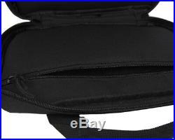 12 Tactical Nylon Padded Pistol Hand Gun AEG Magazine Carry Case Bag Pouch BK