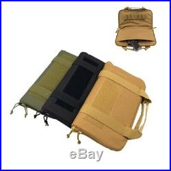 14 Tactical Airsoft Hand Gun Bag Nylon Padded Pistol Magazine Carry Case Pouch