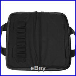 14 Tactical Hand Gun Bag Nylon Padded Pistol Magazine Carry Case Pouch Military