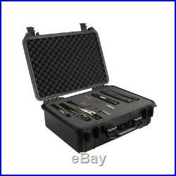 18 Tactical Hard Shell Gun Case Weatherproof Carry Box for Handgun Pistol Ammo
