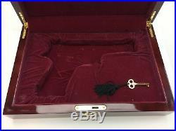 1911 Pistol Presentation Case Wood Box Full Size + Key 2674-X