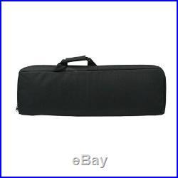 1X 85cm/33 Padded Rifle Gun Case Bag Tactical Hunting Shotgun Backpack Hand Bag