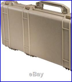 36 Pelican 1700 Weapons Case Rifle Hard Case Watertight Equipment Gun Case TAN