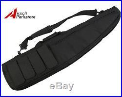 37 Tactical Military Hunting AEG Rifle Gun Carrying Case Hand Bag Pouch Black