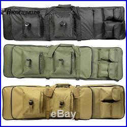 39 100cm Dual Tactical Rifle Sniper Hand Carrying Case Gun Bag + Shoulder strap