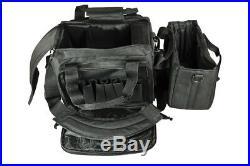 3S Tactical PISTOL RANGE BAG GUN RANGE BAG HANDGUN BAG BLACK