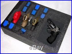 1500D foam insert fits Pelican Storm im2400 case 22 mags 11 pistol handgun gun