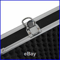 43.7 Gun Case Rifle Storage Travel Carry Pistol Handgun Shotgun Lockable