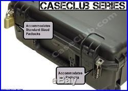 6 Pistol Case 100% Waterproof Dust Proof Military Grade Polyethylene Silica Gel
