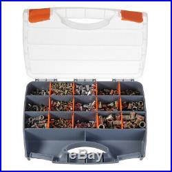 900Pcs Rivet Nut Tool Hand Riveter Gun Rivet Nut Setter Kit with Case