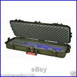 AW EXTREAME DUTY Tactical RIFLE GUN RANGE CASE 36 CUSTOM FIT WATERPROOF DRI-LOC