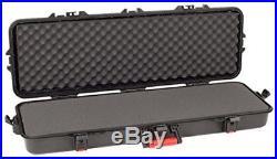 All Weather Gun Tactical Rifle Hard Case Lockable 42 Inch Foam Weapon Storage