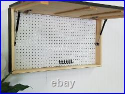 American Flag Conceal Concealment Compartment Cabinet Hidden Gun Storage Case