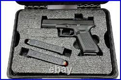 ArmourCase 1400 includes precut foam fits Super Glock 17L Zev +nameplate
