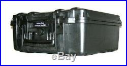 ArmourCase Waterproof 1520 case with QuickDraw fits 6 Pistols + 25 mags +1500D