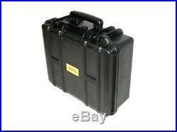 ArmourCase Waterproof 1550 case fits 5 Pistol + 20 mags foam + silica gel + name