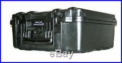 ArmourCase fits 4 very large Revolver Pistols equiv. Pelican 1550 case +bonus