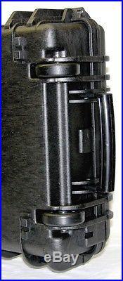 ArmourCase rifle Gun case with pluck foam equiv. Pelican 1700 case +nameplate