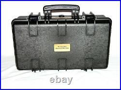 Armourcase 1510 case includes precut Quickdraw 6 pistol handgun foam no wheels