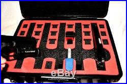 Armourcase HD Waterproof + Pelican 1500 Red Topper precut 5 Pistol Gun case foam