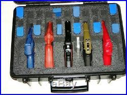 Armourcase HD Waterproof + Pelican 1500 precut QuickDraw 5 Pistol Gun case foam