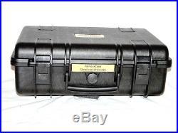 Armourcase Heavy Duty Waterproof + Pelican 1500 precut 4 Pistol Gun case foam