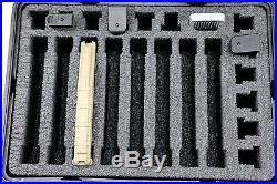 Armourcase Waterproof 1450 case includes Universal Mag Magazine Ammunition foam