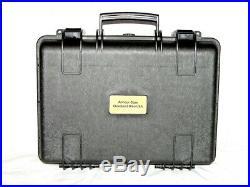 Armourcase + precut Pelican 1500 Quickdraw 1 Pistol Gun range case foam +1500D