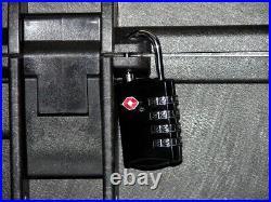 Black ArmourCase 1400 + precut foam fits Smith & Wesson M&P Pistol + nameplate