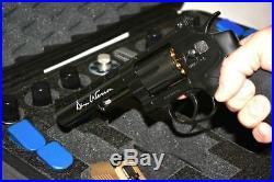 Black ArmourCase fits 4 large Revolver Pistols equiv. Pelican 1520 case +bonus