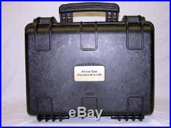 Black ArmourCase + precut foam fits Sig Sauer P226 Tacop equiv. Pelican 1400