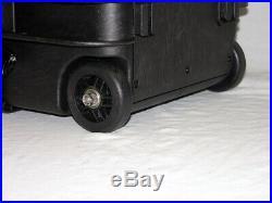 Black Armourcase 1510 with custom 6 pistol handgun foam gun Range Travel case
