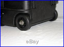 Black Armourcase 1610 with Blue Top precut 7 Pistol + 24 mag case foam +Bonus