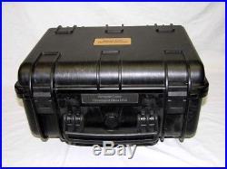 Black Armourcase include precut 9 pistol handgun foam case equiv. Pelican 1450