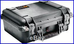 Black Pelican 1450 includes Quickdraw 5 pistol handgun case +nameplate
