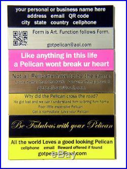 Black Pelican 1520 Storage Travel Case with 6 Pistol Handgun foam +nameplate