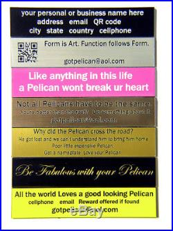 Black Pelican 1550 Storage Travel Case with 5 Pistol Handgun foam +nameplate