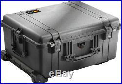 Black Pelican 1610 10 Pistol case includes precut foam +2 1500D +Nameplate