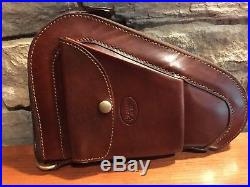 Bracken Creek 8 Pistol Case Padded Fleece Lined High Quality American hides NEW