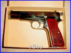 Browning FN Fabrique Nationale High Power 9MM Vintage Box 1950s-1960s
