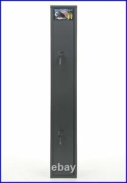 Buffalo 1325 Gun Rifle Shotgun Metal Security Cabinet Safe Storage Case Rack