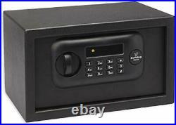 Bulldog Cases BD1050 Standard Digital Pistol Vault 7 x12 x 10 inches, Black