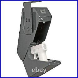 Bulldog Cases Magnum Biometric Vertical Quick Vault Black BD4065B NIB