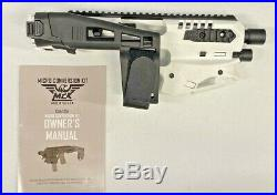 CAA Glock MCK Micro Conversion Kit WHITE 20/21 Gen 3-5