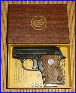 COLT 25 Semi-Automatic Box 1970 until end of production