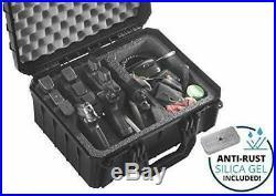 Case Club 3 Pistol & Accessory Pre-Cut Waterproof with Silica Gel to
