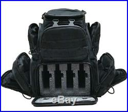 Case Club Tactical 4-Pistol Backpack with Rainfly & Molle Straps, (GEN 2)